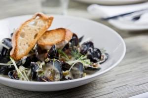 Two Oceans Restaurant - Black Beard Mussels Source: http://www.two-oceans.co.za/gallery/