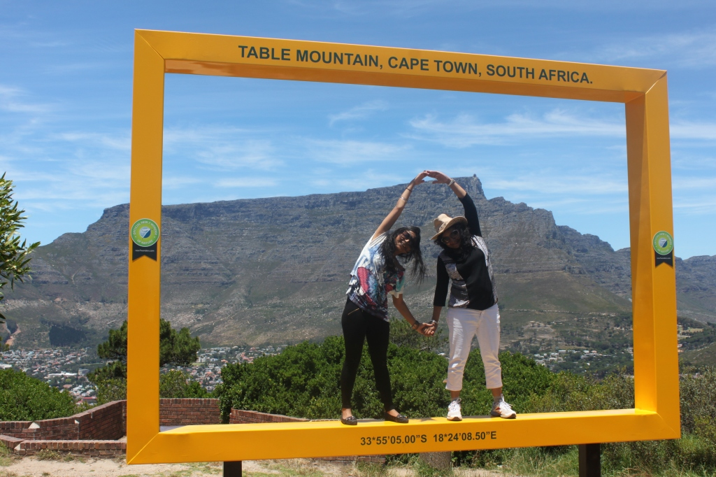 Table mountain with Mom
