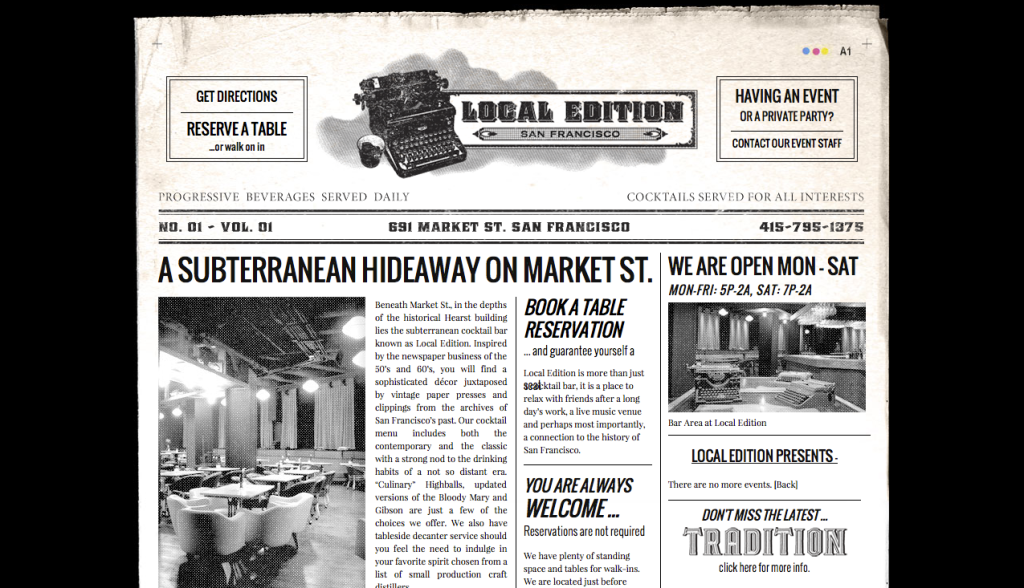 Local Edition - San Francisco
